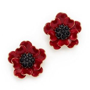 Kate Spade Precious Poppies Earrings